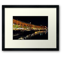 Valletta Water Front MALTA Framed Print