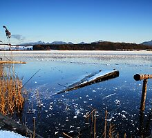Icy Blue Lake Rieg by Kasia-D