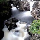 Betwys-Y-Coed Falls by Mark Dobson