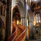 Glow of Gold, Ripon Cathedral by Christine Smith
