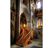 Glow of Gold, Ripon Cathedral Photographic Print