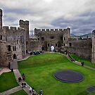 Caenarfon Castle by Mark Dobson