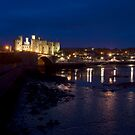 Conway Castle at Night by Mark Dobson