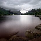 Lake at Llanberis  by Mark Dobson