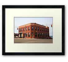 Munising, Michigan - City Hall Framed Print