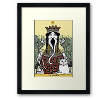 The Emperor (Tarot of the Roses)  Framed Print