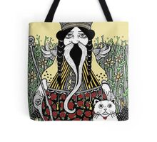 The Emperor (Tarot of the Roses)  Tote Bag