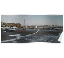 Minehead Harbour Poster