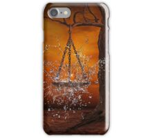 Fire and water balance iPhone Case/Skin