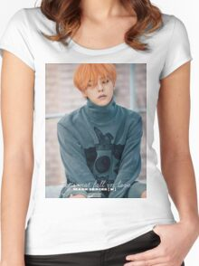 GDRAGON-MADE SERIES E Women's Fitted Scoop T-Shirt