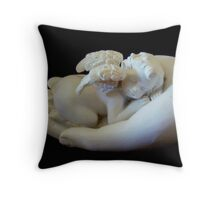 In the palm of your hand. Throw Pillow