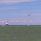 Kitesurfing At Conneaut by Jack Ryan
