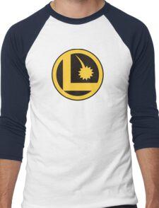 Legion of Super-Heroes Logo Men's Baseball ¾ T-Shirt
