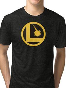 Legion of Super-Heroes Logo Tri-blend T-Shirt