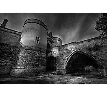 Nottingham Castle v2.0 BW  Photographic Print