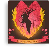 House of Chopper (Dark ver.) Canvas Print