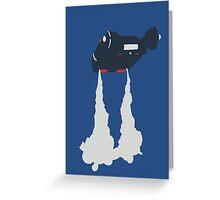 Blade Runner - Spinner Vehicle  Greeting Card