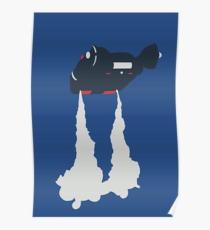 Blade Runner - Spinner Vehicle  Poster