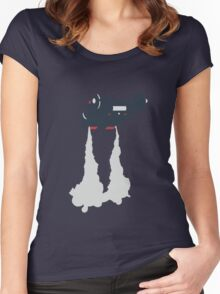 Blade Runner - Spinner Vehicle  Women's Fitted Scoop T-Shirt