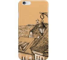 Roofs in Transylvania iPhone Case/Skin
