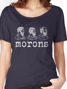 Inspired by Princess Bride - Plato - Aristotle - Socrates - Morons - Movie Quotes - Comedy Women's Relaxed Fit T-Shirt