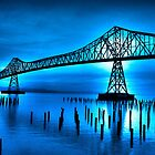Blue Bridge by Heather Parsons