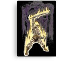 Heman in Greyskull Canvas Print