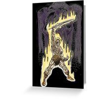 Heman in Greyskull Greeting Card
