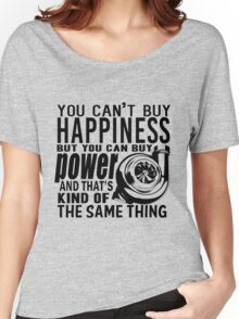 Happiness is power Women's Relaxed Fit T-Shirt