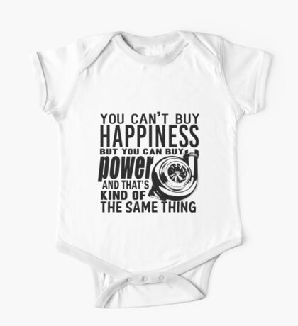 Happiness is power One Piece - Short Sleeve