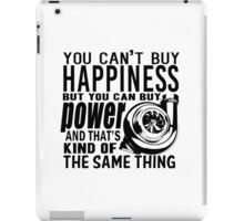Happiness is power iPad Case/Skin
