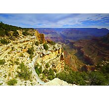 """Bright Angel Trail"" Photographic Print"