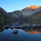 First Light Convict Lake by Anne McKinnell