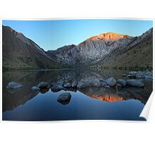 First Light Convict Lake Poster