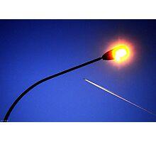 Streetlight Contrail Photographic Print