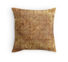 abstract ancient Egyptian pattern Throw Pillow