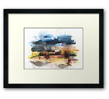 After storm Framed Print
