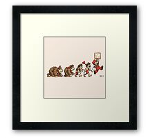 8 Bit Evolution Framed Print