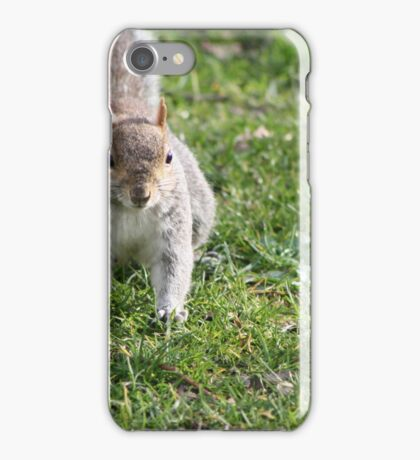 Pouncing Squirrel  iPhone Case/Skin