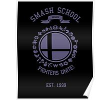 Smash School United (Purple) Poster