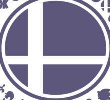 Smash School United (Purple) Sticker