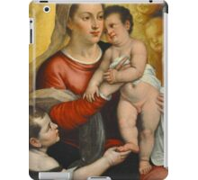 FOR UNTO US A CHILD IS BORN  CARD iPad Case/Skin