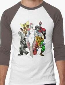 The good guys of Eternia Men's Baseball ¾ T-Shirt