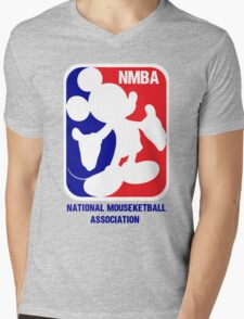 NMBA Mens V-Neck T-Shirt