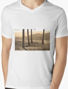 Blue Ridge Mountains, Virginia Mens V-Neck T-Shirt