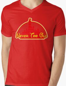 Never tool old MOUSE colors Mens V-Neck T-Shirt