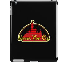 Never tool old MOUSE colors iPad Case/Skin