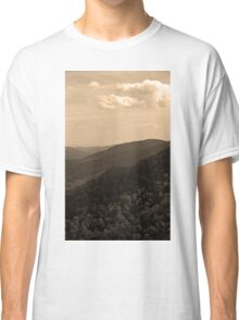 Blue Ridge Mountains, Virginia Classic T-Shirt