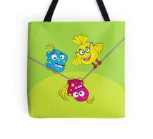 Wacky Bird Hangout Tote Bag