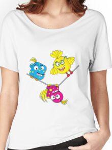 Wacky Bird Hangout Women's Relaxed Fit T-Shirt